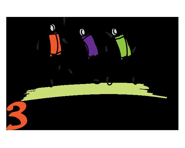 3 Stickmen