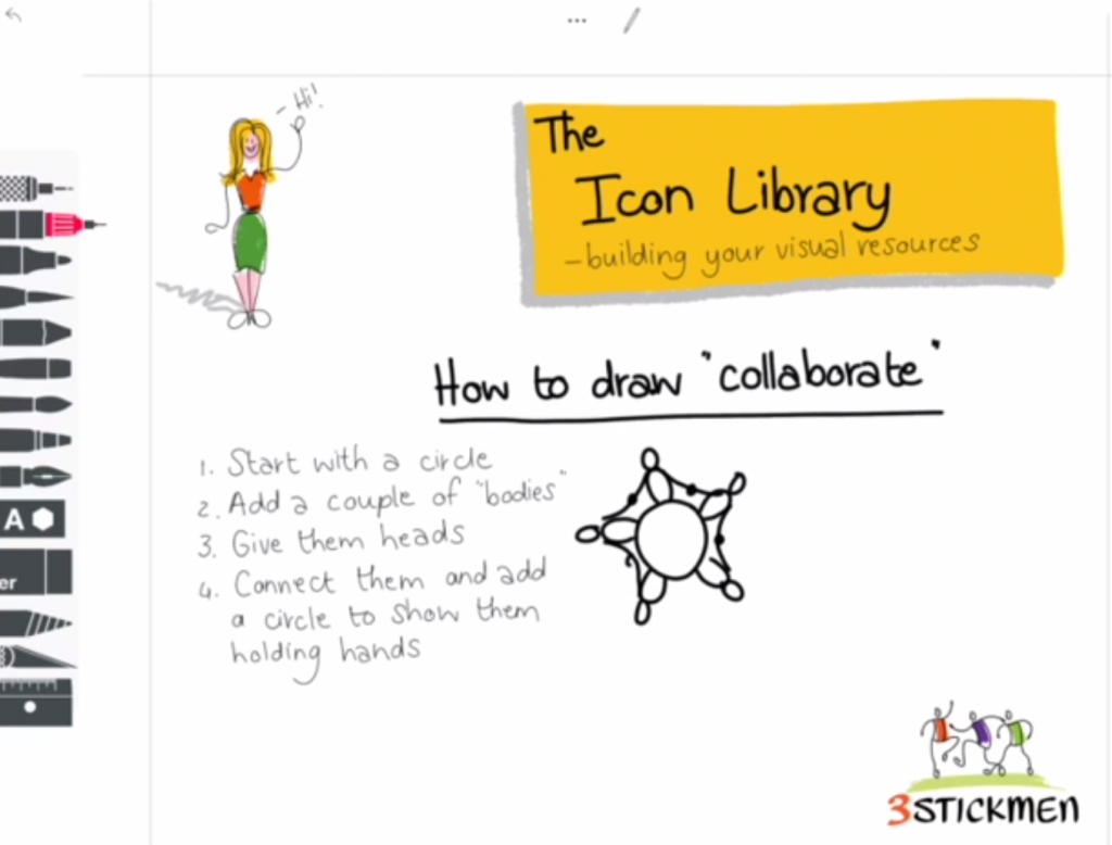 How to draw collaborate